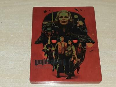 Wolfenstein 2 The New Colossus Limited Edition Steelbook Case Only (D) (NO GAME)
