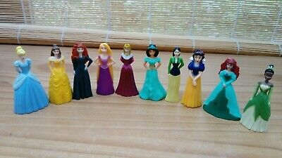 Disney Princess Plastic Figures/cake Toppers