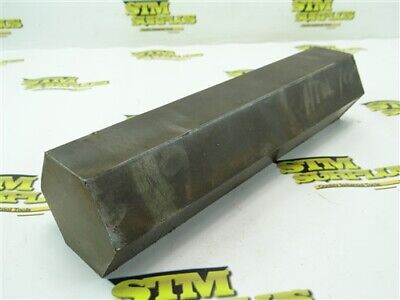"16Lb Lot Of Solid Steel Hex Stock 2-1/2"" X 10-3/4"""