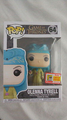 Funko Pop Olenna Tyrell Game Of Thrones 2018 SDCC Exclusive Official Sticker