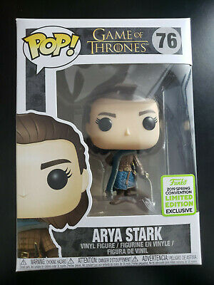 Funko Pop Arya Stark Game Of Thrones Vinyl Figure 2019 ECCC Exclusive Spring 76