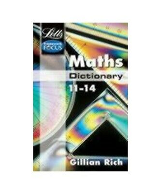 Letts Educational Maths Dictionary Age 11-14