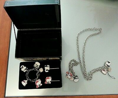 Box Hello Kitty 2006 introvabile!  Collana bracciali anniversario 1976-2006