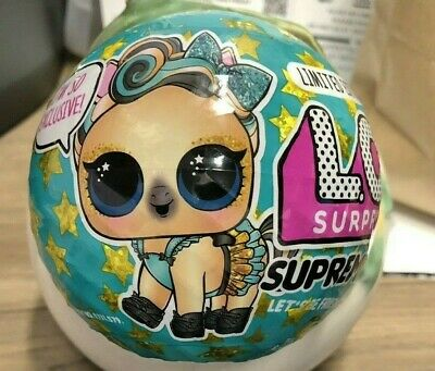 Lol Surprise Limited Edition Supreme Pet Series Ball  Unopened New