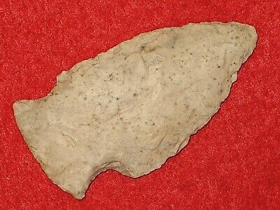 Authentic Native American artifact arrowhead Missouri Hopewell point U15