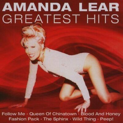 Amanda Lear : Greatest Hits CD Value Guaranteed from eBay's biggest seller!