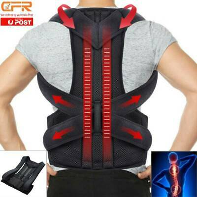 Back Posture Correction Shoulder Corrector Support Brace Belt Therapy Men&Women