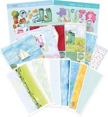 Makes 12 Cards - Hunkydory Worlds Within Concept Card Collection