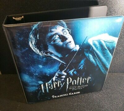 Harry Potter and the Half Blood Prince Trading Card Binder