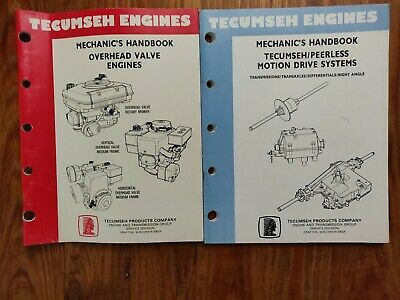 Tecumseh Engines Mechanic's Handbook-Overhead Valve Engines & Motion Drive
