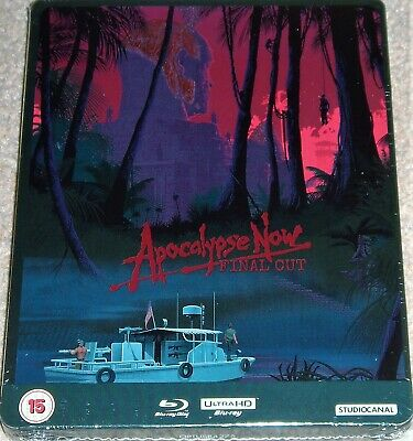 Apocalypse Now (Final Cut)  4K UHD+Blu Ray Steelbook / WORLDWIDE SHIPPING