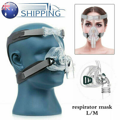CPAP Mask Face Nasal Mask Resmed Sleep Snore with Headgear Respirator Strap