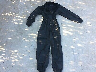 Weiss One Piece Motorcycle All Weather Suit Black Size XS UK