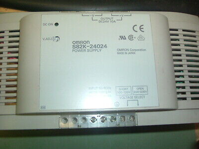 Omron............ S82K 24024.......... Power Supply.............new Not Packaged