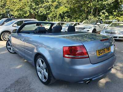 06 Audi A4 Cabriolet 2.0 Tfsi S Line Auto - 67K Mls, 6 Stamps, Leather, Nice Car