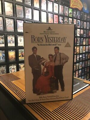 Born Yesterday Ex Rental VHS