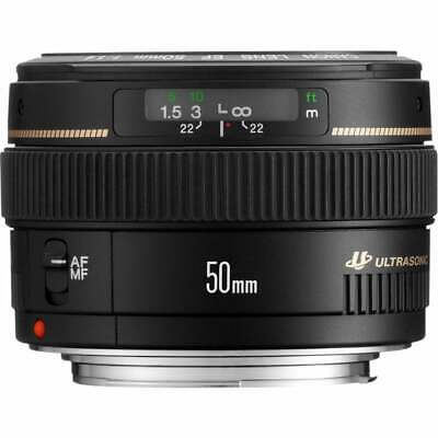 Canon EF 50mm f/1.4 USM Camera Lens New Boxed