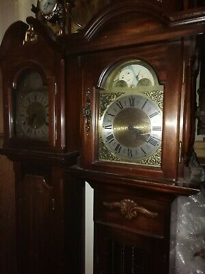 Westminster Chime Moon Phase Grandmother Clock In E. W.O. WMP1. REDUCED