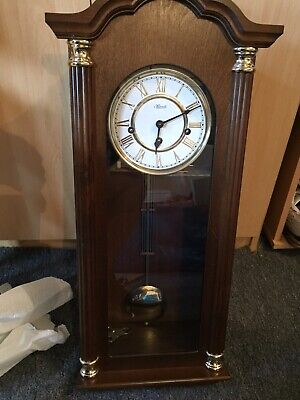 Wall Clock 8 DAY CHIME Wind Up