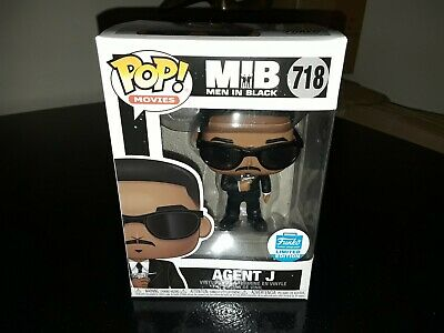 Funko POP! Movies MIB Agent J #718 Men In Black Funko Shop Exclusive