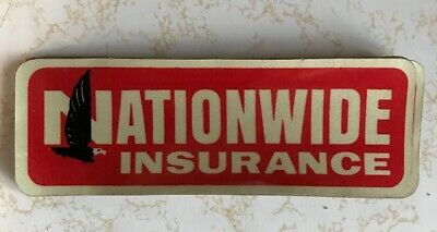Vintage NATIONWIDE INSURANCE Bumper Sticker