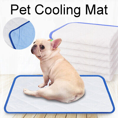 Summer Pet Cooling Non-Toxic Cool Mat Gel Cooling Pad Pet Bed For Ice Silk