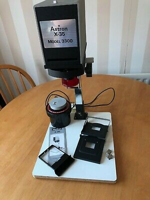 Astron X-35 Model 3300 35mm Photographic Enlarger - Very Good Condition