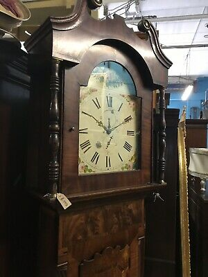 Seven Good Georgean Victorian Grandfather Clocks