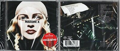Madonna Madame X  Target Exclusive Usa Cd New Sealed    2 Extra Tracks