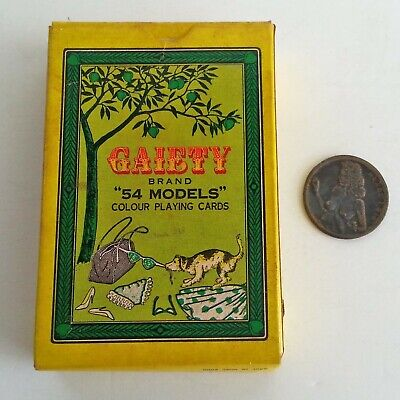 Vintage Nude Playing Cards 1960s GAIETY 54 MODELS + Heads you Win Nude Coin