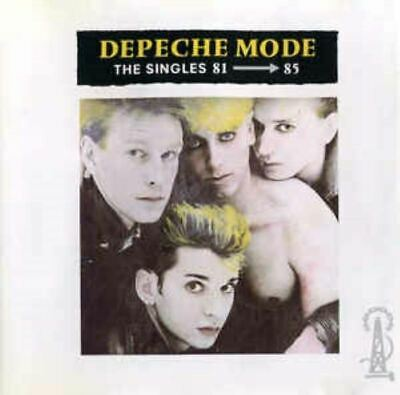 DEPECHE MODE the singles 81 - 85 (CD, compilation) greatest hits, best of, pop,