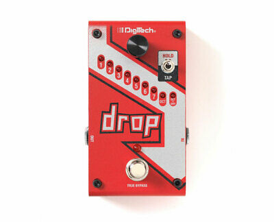 Digitech DROP Compact Polyphonic Drop Tune Pitch Shifter w Power suppy - Used