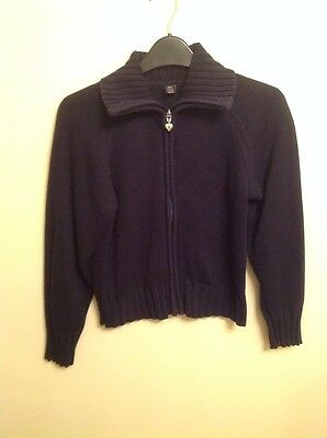 TU Navy Cardigan 10 Years
