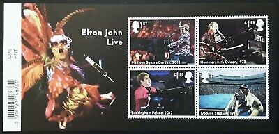 GB 2019 Music Giants - Elton John Mint Never Hinged Miniature Sheet