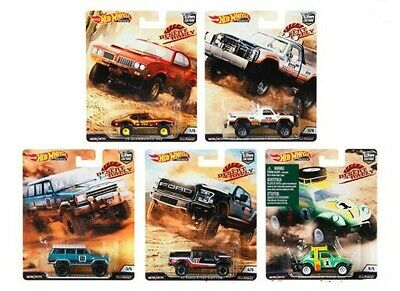 Hot Wheels 2019 Car Culture Desert Rally  Factory Case Fpy86-956K 10 Pc In Stock
