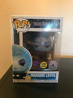 Haunted Mansion Madame Leota Glow Funko Pop! Disney Park Exclusive! Sold Out!