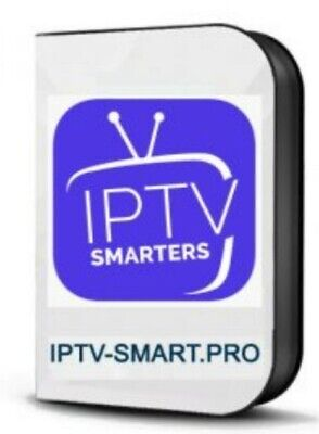 SMARTER PRO IPTV 12 MOIS TOUT SUPPORTS (Smarttv Android iOS MAG m3u)
