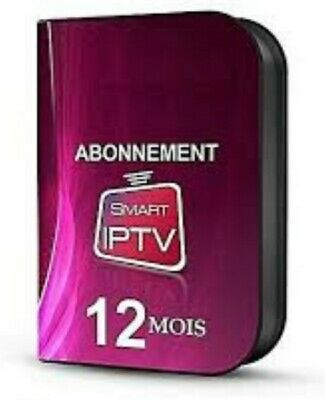 SMART IPTV 12 MOIS TOUT SUPPORTS  Smarttv Android iOS MAG m3u