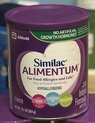 Similac Alimentum- Hypoallergenic 12.1 oz Food Allergies Jun/2021 (or after)