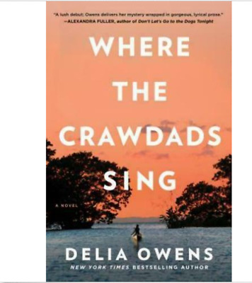 """""""""""Where The Crawdads Sing by Delia Owens"""""""" -12hours deliver"""