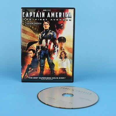 Captain America - The First Avenger DVD - Marvel Studios - Bilingual GUARANTEED