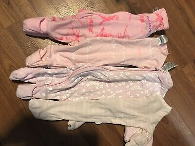 4 X Girls Bonds 0000 Cozysuits Wondersuits Bulk