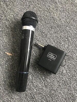 Singing Machine SMM-107A Karaoke Wireless Microphone And Receiver