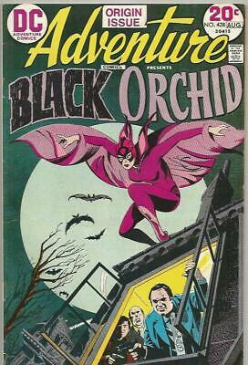 Adventure Comics #428 (August 1973) The Black Orchid D.C. Comics Mid Grade
