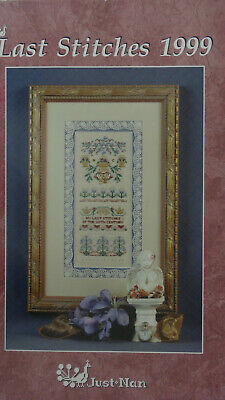 Last Stitches of 1999- OOP Cross stitch chart by Just Nan