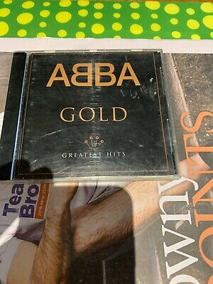 ABBA Gold Greatest Hits CD Disc Good Cond Minor Marks