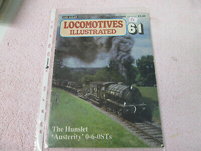 LOCOMOTIVES ILLUSTRATED 61 THE HUNSLET AUSTERITY 0-6-0Ts
