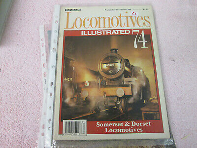 Locomotives Illustrated 74 Somerset And Dorset Locos