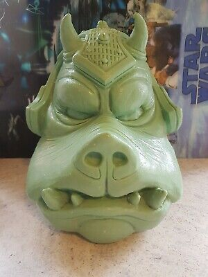 full size 1:1 scale gamorrean guard head, prop bust (rawcast) starwars