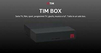 Nuovo Tim Box 2019 Decoder Digitale Android 4K 2Gb 32Gb Hdmi Sky Dazn